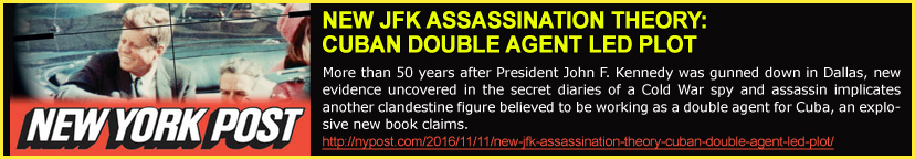 New York Post: NEW JFK ASSASSINATION THEORY